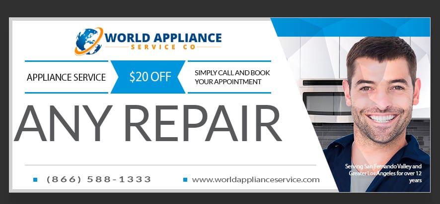 appliance repair near me coupon