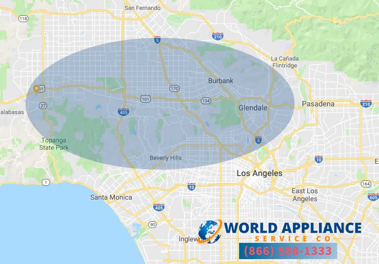 world appliance service company los angeles